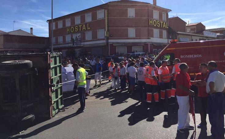 Accidente mortal en las fiestas de Tordesillas