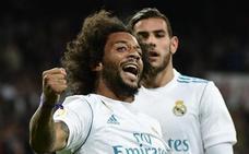 Marcelo: «Benzema es el mejor '9' de Europa»
