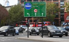 Londres cobrará 24 euros diarios a los coches más contaminantes