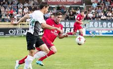 Empate a fútbol entre CD Mirandés y Burgos CF