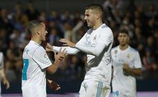 Los penaltis alivian al Madrid