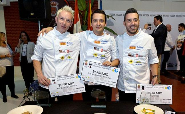 La 'yema acorazada' de Jhon Eduar Padilla gana el 2º Concurso Nacional de Cocina de Villarcayo
