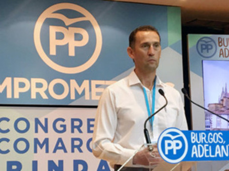 Manuel Villanueva, elegido presidente del PP en Las Merindades