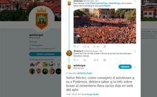 La gestión del Twitter oficial del Ayuntamiento de Burgos vuelve a generar polémica