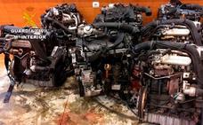 Desarticulada una banda que robaba coches para desguazarlos y vender las piezas en Polonia