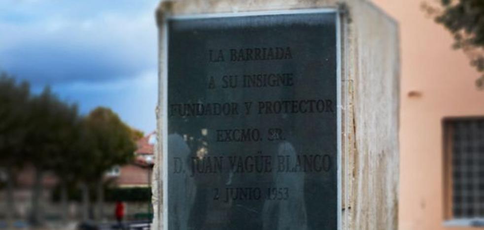 Yagüe reclama «derecho a decidir» y mantener el nombre de la barriada