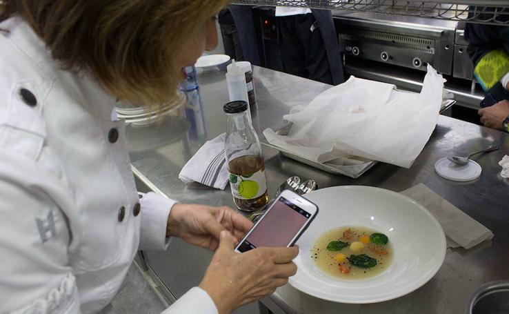 Cena elaborada por varias Estrellas Michelin en 'Burgos Entre Cucharas'