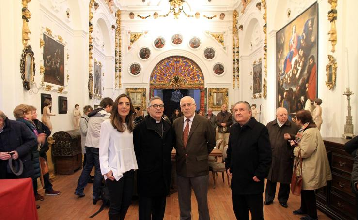 Inauguración de la remodelada sacristía del Santuario de la Fuencisla