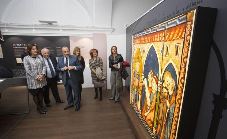 El Palacio del Licenciado Butrón inaugura la exposición 'Fernando III y su Reinado'