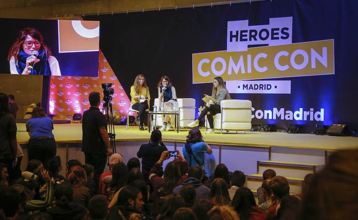 Lena Headey visita el Heroes Comic Con Madrid
