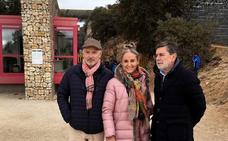 Kubrat de Bulgaria, de visita en Atapuerca