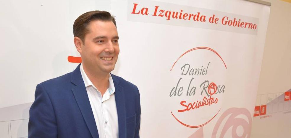 Daniel de la Rosa se postula a la reelección como secretario general del PSOE local