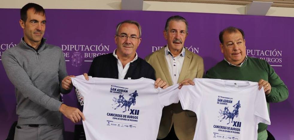 Alrededor de 300 corredores se darán cita en el Canicross de San Adrián de Juarros