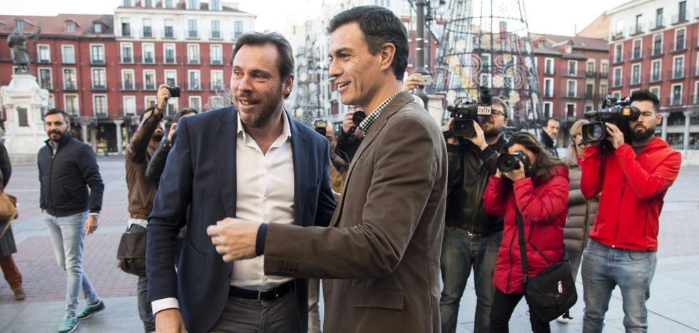 Pedro Sánchez saca al PSOE de Ferraz y lo trae a Valladolid