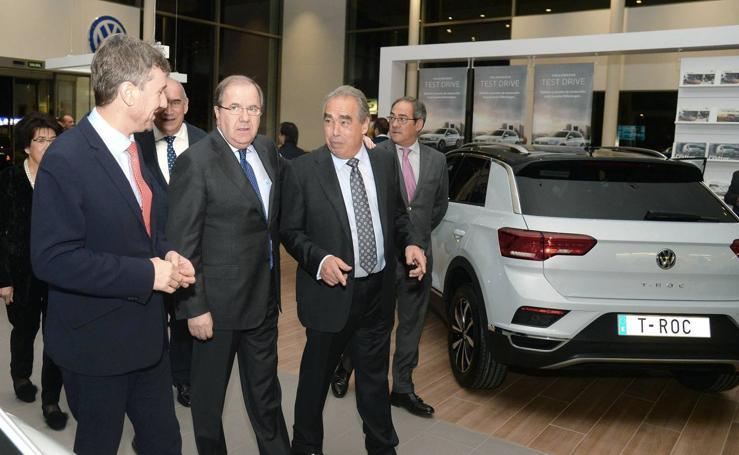 Juan Vicente Herrera inaugura las nuevas instalaciones del Grupo Ureta