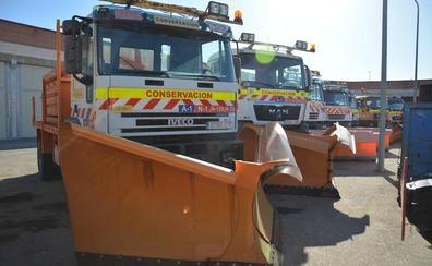 89 máquinas quitanieves y 23.900 toneladas de sal para asegurar la vialidad invernal