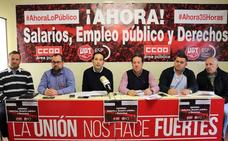 Burgos ha perdido 2.185 funcionarios en siete años