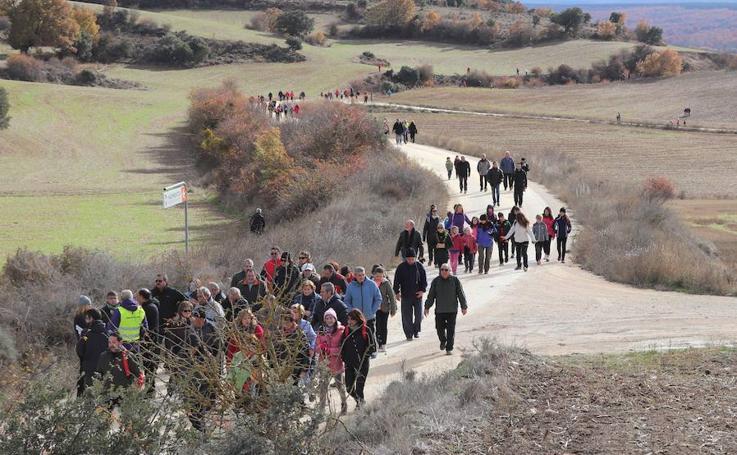 Marcha a pie a los Yacimientos de Atapuerca