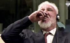 Muere uno de los acusados de crímenes de guerra ante el Tribunal para la antigua Yugoslavia tras ingerir veneno