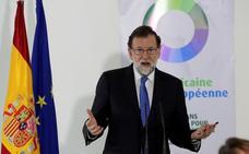 Rajoy reivindica el 155 ante el «absurdo» de plantear que el Gobierno no hiciera nada