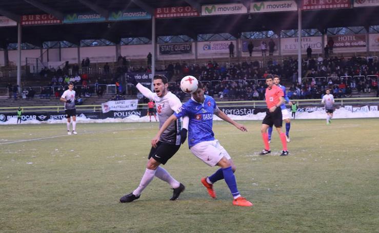 Las mejores imágenes del partido entre el Burgos C.F y Barakaldo