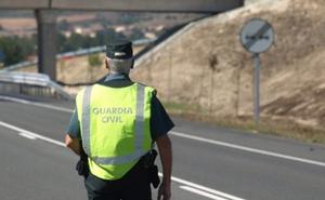 Reabierta la A-62 en sentido Burgos en Villaquirán de los Infantes tras retirar un camión accidentado