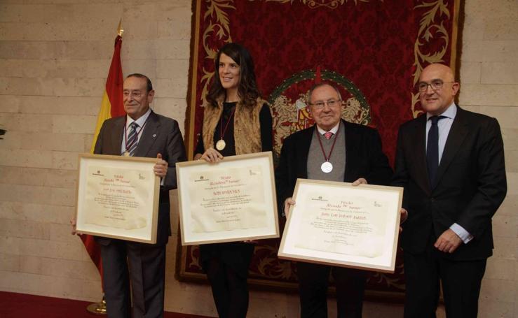 José Luis Bonet, Ruth Beitia, y José Luis Sanz Bustos, nuevos Alcaides de Honor del Museo Provincial del Vino 2017
