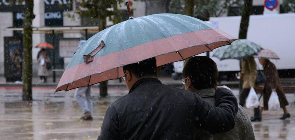 La borrasca 'Ana' traerá el domingo a Burgos vientos de hasta 110km/h