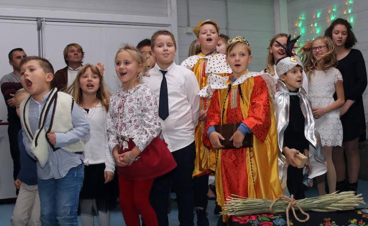 Fiesta de la asociación Karol Wojtyla en Segovia