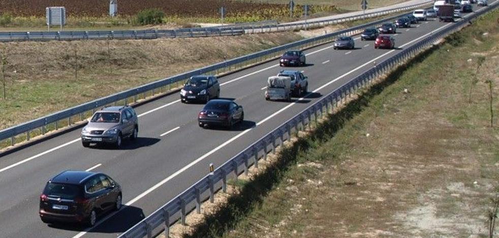El 'puente' deja siete heridos leves en dos accidentes de tráfico en Burgos