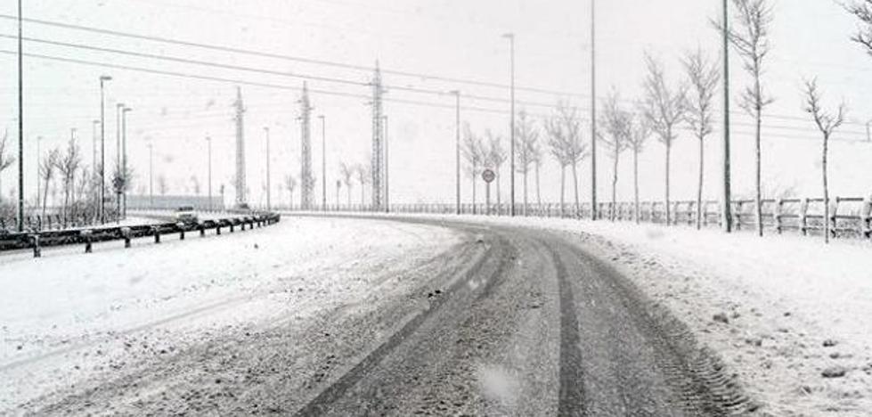 Desactivada la alerta por nieve en la zona norte de Burgos