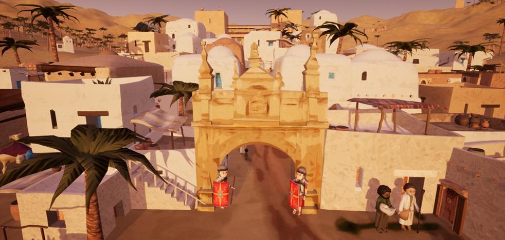 Un Belén en realidad virtual en la Catedral