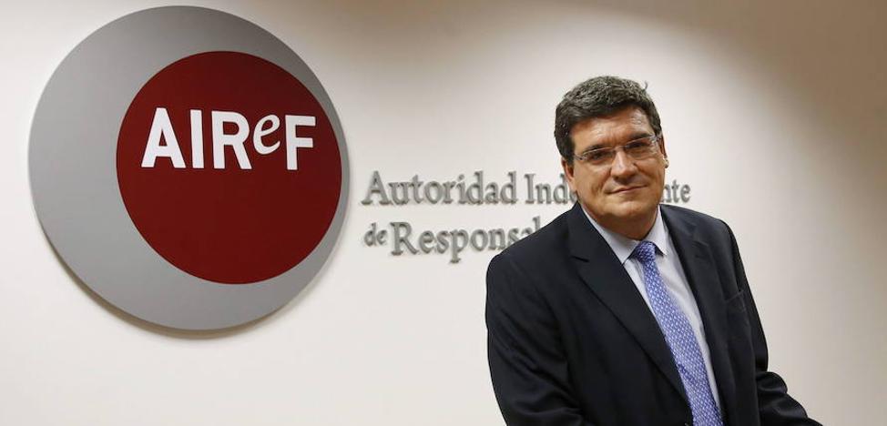 La economía se acelera en el cuarto trimestre pese a Cataluña, según la Autoridad Fiscal