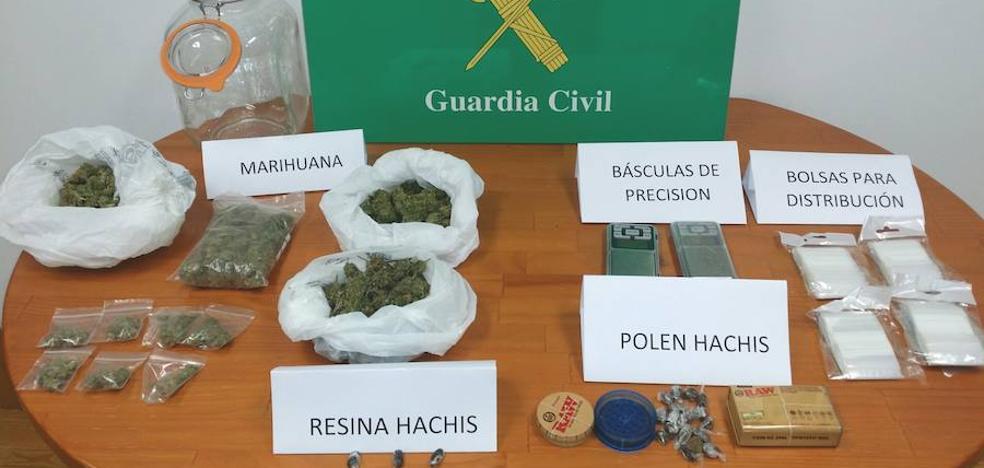 Detenido en Las Merindades un varón de 18 años por presunto tráfico de drogas