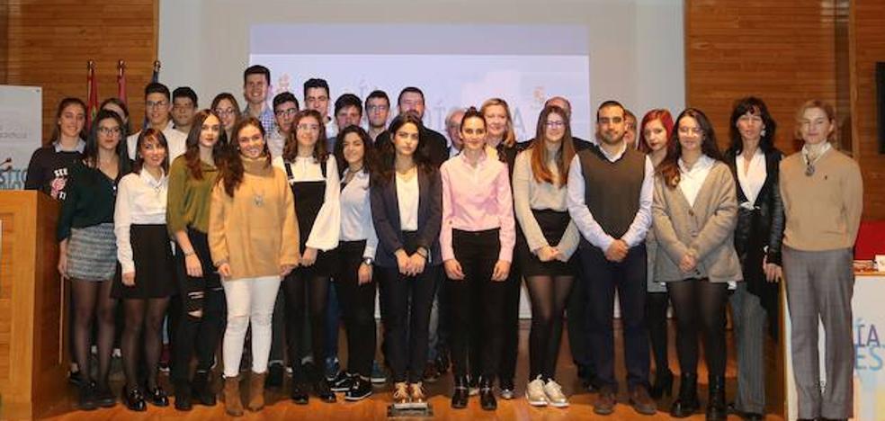 Los Premios de Estadística reconocen el trabajo de alumnos de dos colegios leoneses