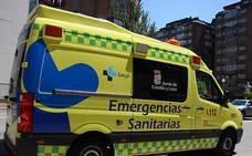 Heridas tres personas tras una colisión de dos turismos en Aranda