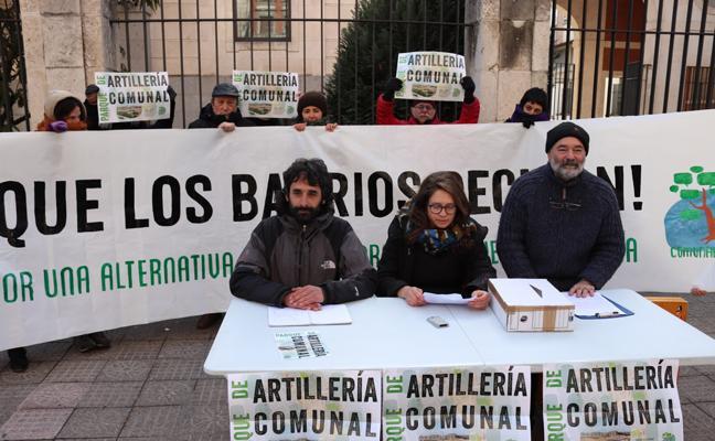Comunales Vivos presenta unas 200 alegaciones a la venta del Parque de Artillería