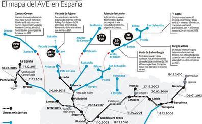 Mapa Ave España 2019.Gestor De Infraestructuras Ferroviarias Burgosconecta