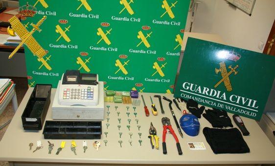 Detenidos por varios robos en viviendas y bares, uno de ellos en Burgos