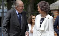 Homenaje para Los Reyes Juan Carlos y Sofía en 2018