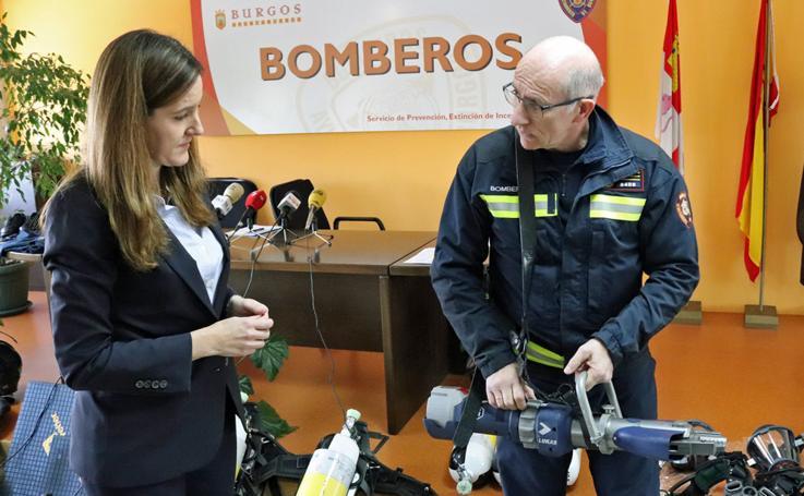 Los bomberos renuevan su equipamiento