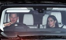 Meghan Markle acude al almuerzo navideño de la familia real británica