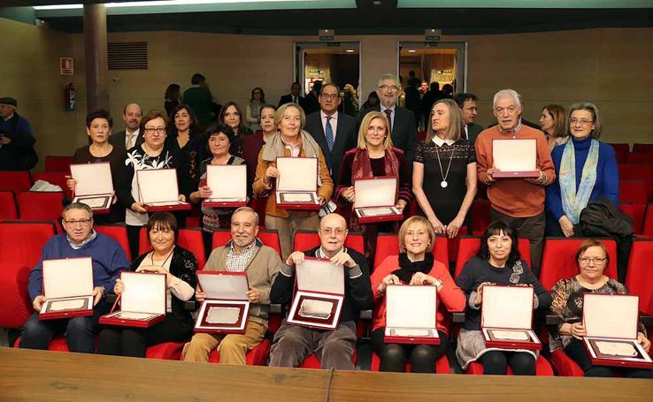Los empleados distinguidos por la Junta de Castilla y León