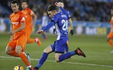 Munir da tres puntos de oro al Alavés ante un desdibujado Málaga