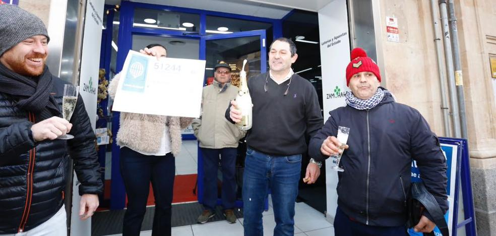 El segundo premio reparte 750.000 euros en Castilla y León
