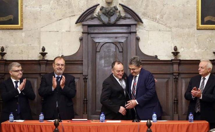 Óscar Campillo toma posesión como presidente del Consejo Social de la UVA