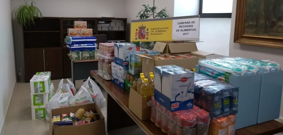 La Subdelegación entrega 350 Kg de alimentos a las Hermanitas de Ancianos Desamparados