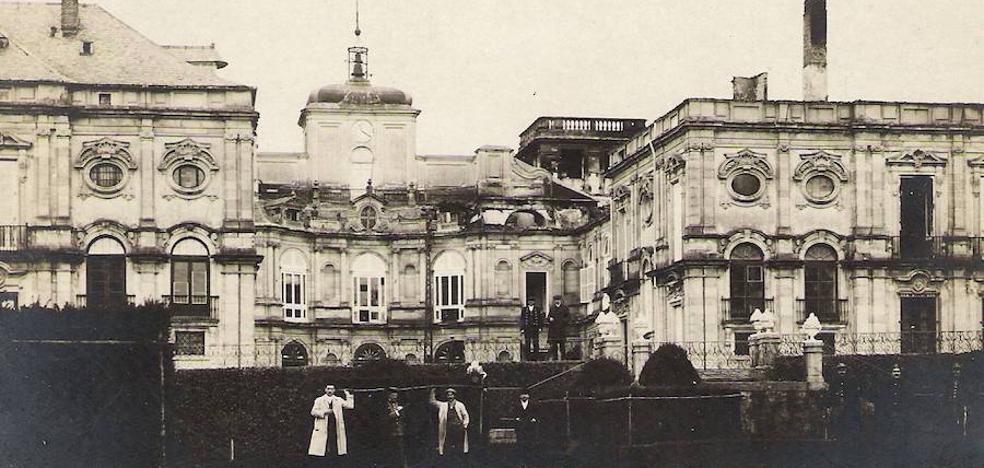 Aquel 2 de enero en el que ardió el Palacio Real de la Granja