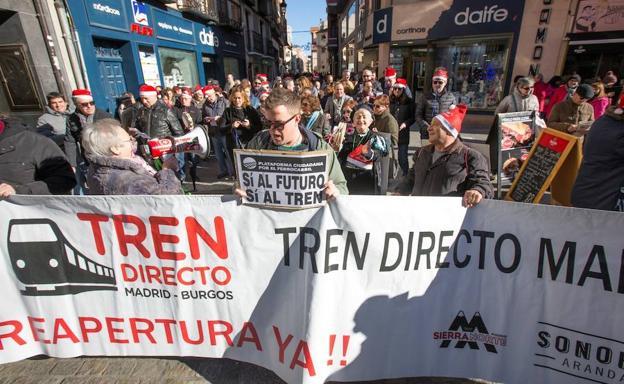 Las manifestaciones en Aranda se vienen repitiendo desde hace tiempo/