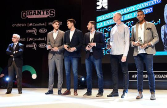 El San Pablo luce afición en los Premios Gigantes